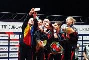 Romania a castigat aurul feminin la Europenele de tenis de masa din Luxembourg! Fetele noastre au invins Germania in finala dupa un meci dramatic!
