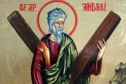 """Sarbatoarea Sfantului Andrei, ocrotitorul Romaniei! """"La multi ani""""celor 700.000 de romani care poarta acest nume!"""
