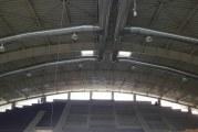 Sala Sporturilor din Targu Jiu este aproape de finalizare! Mai trebuie montate cele 1.000 de scaune