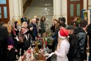 Expoziţie inedită la târgul de Crăciun Winterland din Craiova! Studenţii de la Horticultură, artişti în scop umanitar!