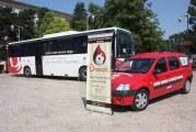 Autocarul de salvat vieţi – duminica 17 decembrie, centrul mobil de donare va stationa in Tg Jiu si Novaci