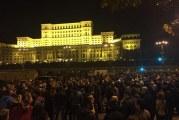 PSD s-a speriat de protestele de aseara, din fata Parlamentului, si nu a votat modificarile la Legile Justitiei