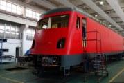 """Locomotiva """"Scufita Rosie"""" de la Craiova, vedeta cailor ferate europene!"""