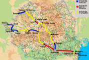 Autostradă Piteşti – Sibiu va fi gata in 2021! Traseul va avea opt noduri rutiere, 70 de poduri, 57 de viaducte, nouă tuneluri şi trei ecoducte!