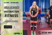 Cursuri intensive, in Slatina, pentru cei care doresc sa devina instructori de fitness sau antrenori personali! Diploma este recunoscuta in Uniunea Europeana!