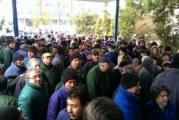 Protest spontan la Electroputere Craiova! Sute de angajati au intrerupt lucrul si au cerut salarii mai mari!