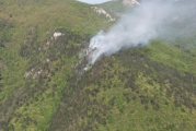 INCENDIU din Parcul Naţional Domogled: Forţe impresionante intervin pentru stingerea flăcărilor