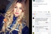 Bianca Alexandra Tomulescu Gugulici, noua imagine a Politiei Romane! Valceanca de 22 de ani face parte din noua strategie de promovare a Politiei pe Facebook!