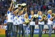 Oltenii au facut un nou record de spectatori in Liga 1: 29.000 de fani au creat o atmosfera extraordinara la meciul cu FCSB! Handbalistele au fost aclamate inaintea partidei!