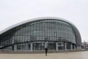 La trei luni de la inaugurare, Sala Sporturilor din Târgu Jiu nu rezistă la ploi! Două milioane de euro a costat modernizarea şi extinderea ei!