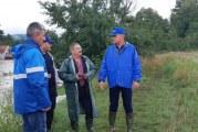 """Vâlcea: """"Apele Române"""" intervin în zonele afectate de inundații!"""