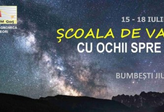 Societatea Astronomică Română de Meteori – Astroclubul SARM Gorj organizează la Bumbești Jiu un eveniment în premieră.  Vezi aici detalii despre eveniment !