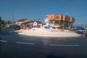 Dolj: Primul sens giratoriu modular din lume, inaugurat la Craiova