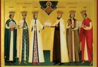 Sfintii Martiri Brancoveni: Constantin Voievod cu fiii sai, Constantin, Stefan, Radu, Matei si sfetnicul Ianache, sunt praznuiti pe 16 august!