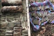 Proiectile si sute de cartuse, gasite in Poiana lui Mihai inainte de reconstituirea luptelor din Primul Razboi Mondial!