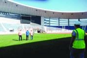 Scandal pe finalizarea lucrărilor la Stadionul Municipal!
