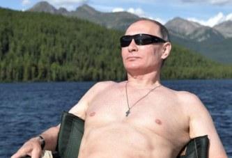 Putin a pozat din nou la bustul gol pentru calendarul noului an! Imagini spectaculoase cu cel mai puternic om din Rusia!
