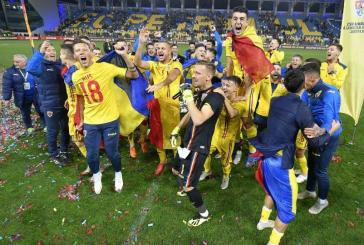 Suntem din nou, dupa 20 de ani, la un turneu final! Tineretul lui  Mirel Radoi a castigat grupa si s-a calificat la Campionatul European din Italia si San Marino!