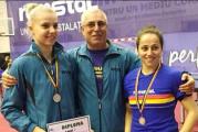Noi performante ale slatinencelor in tenisul de masa romanesc: Adina Diaconu a iesit viceampioana nationala la simplu, iar Irina Ciobanu a castigat proba de dublu mixt, impreuna cu Adi Dodean!