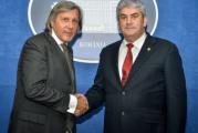 UNPR incearca sa intre in Parlamentul European cu doi generali de top ai sportului romanesc! Gabriel Oprea a anuntat intreaga lista intr-o conferinta de presa!