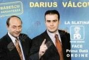 "Traian Basescu a uitat ca a garantat personal pentru Darius Valcov si l-a caracterizat pe acesta ca fiind ""un rebut""! Fostul presedinte a precizat ca ""pe fostul primar al Slatinei nu l-am ghicit""!"