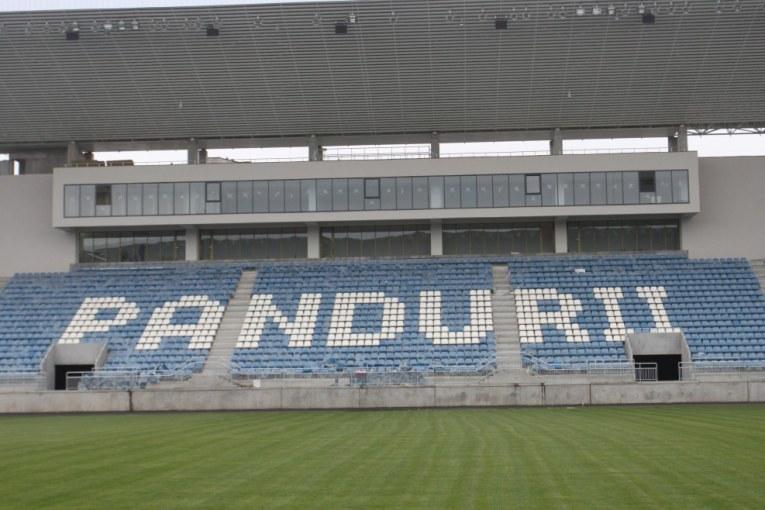 Brandul Pandurii implica si stadionul nou contruit