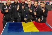 ROMANIA ESTE CAMPIOANA EUROPEANA! Doua slatinence fac parte din echipa de aur care a facut istorie la CE de tenis de masa de la Nantes!
