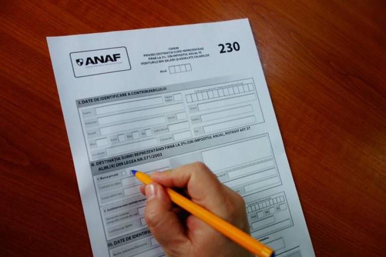 ANAF are o nouă variantă pentru formularul 230
