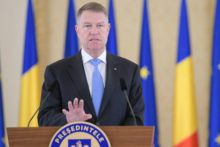 """Klaus Iohannis: """"Nu iau în calcul un  guvern de uniune națională"""""""