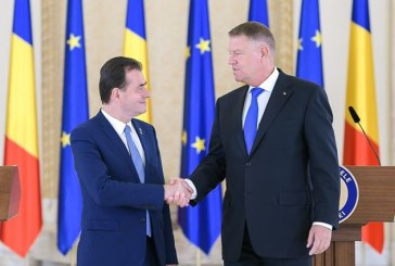 Klaus Iohannis a anunțat premierul: tot Ludovic Orban