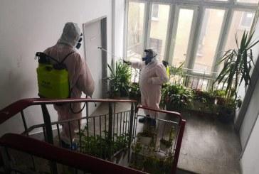 4.000 de blocuri din Craiova, dezinfectate de Primărie