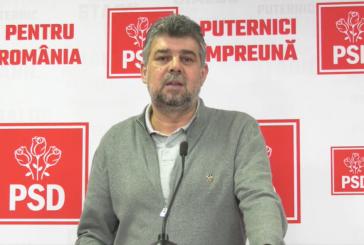 Marcel Ciolacu nu poartă mască pentru că are deviație de sept