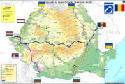 Harta culoarelor de tranzit pentru transportul de marfă în perioada stării de urgență