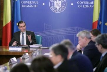 Guvernul adoptă mâine un set de măsuri pentru companii