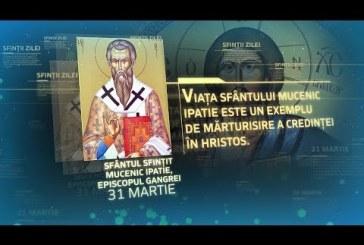 Calendar creștin ortodox: Sfântul Mucenic Ipatie
