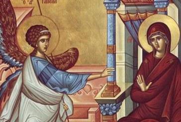 Calendar creștin ortodox: Buna Vestire