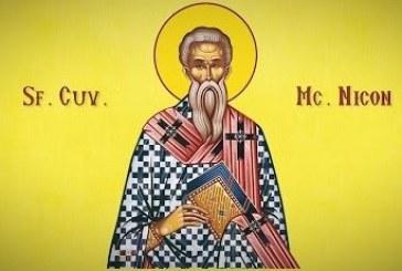 Calendar creștin ortodox: Sf. Sf. Cuv. Mc. Nicon şi cei 199 ucenici ai lui