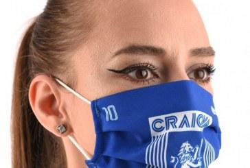 Universitatea Craiova vinde măști personalizate pentru suporteri