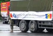 România ajută Moldova cu 20 de camioane cu echipamente și medicamente