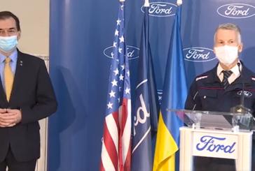 Ludovic Orban la Ford Craiova: Apreciez reluarea activității