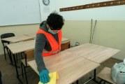 Școlile, dezinfectate pentru perioada de pregătire a elevilor care dau examene
