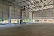 CNI: Sala de sport a Liceului sanitar din Râmnicu Vâlcea va fi gata în iulie