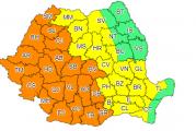 Alertă de vreme rea în Oltenia: cod portocaliu de ploi și vânt