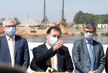 Ludovic Orban, maraton în Olt: ALRO, Drum Expres, ședință cu primarii PNL