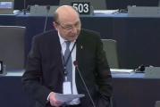 """VIDEO. Traian Băsescu a vorbit la Bruxelles despre """"izvorul corupției"""" din UE"""