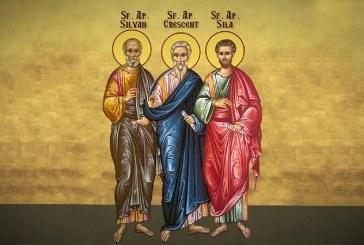 Calendar creștin ortodox: Sf. Ap. Sila, Silvan, Crescent, Epenet şi Andronic