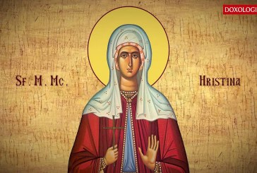 Calendar creștin ortodox: Sf. M. Muceniță Hristina