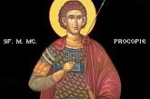 Calendar creștin ortodox: Sf. M. Mc. Procopie