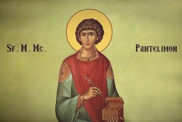 Calendar creștin ortodox: Sf. M. Mc. şi Tămăduitor Pantelimon