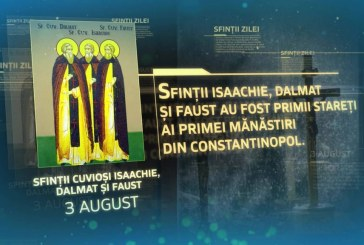 Calendar creștin ortodox: Sf. Cuv. Isaachie, Dalmat şi Faust